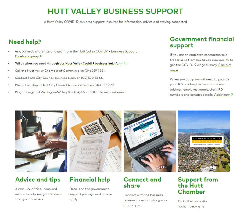 - HV Covid19 Business Support - HOME