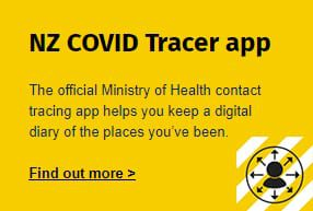- NZ Covid Tracer App - HOME