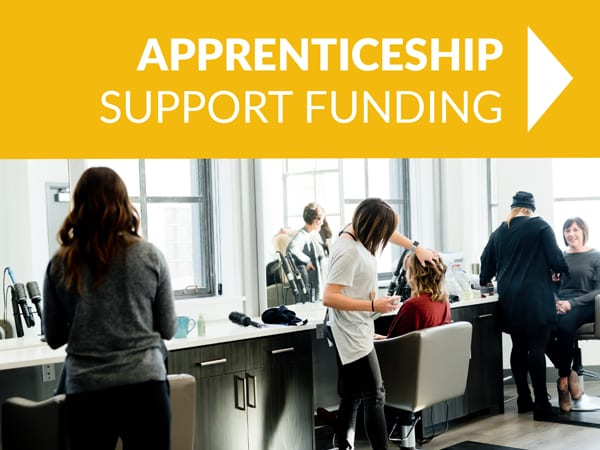 - APPRENTICEship support funding - HOME