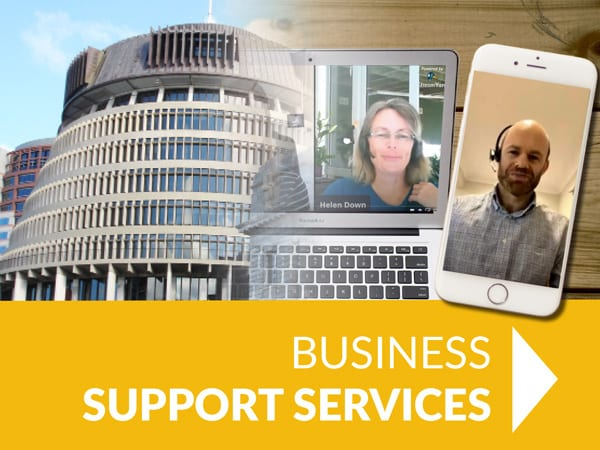 - business support services - HOME
