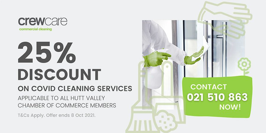 Crewcare Commercial Cleaning 20% Off Promotion