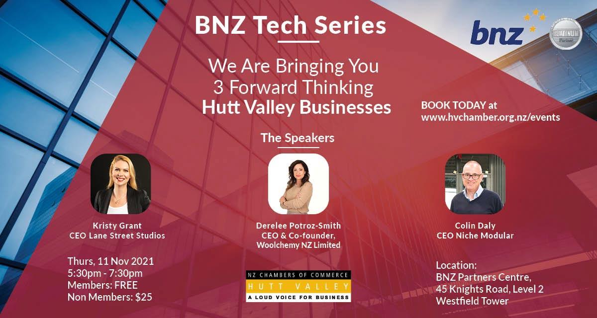 BNZ Tech Series Event - November 2021